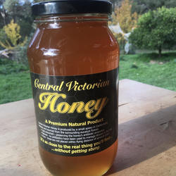 Central Victorian Honey Yellow Gum 1kg