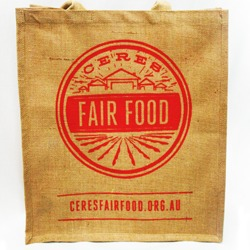 CERES Fair Food Jute Bag
