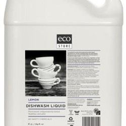 Ecostore Dishwash Liquid Lemon 5L VALUE BULK BUY