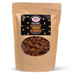 2Die4 Activated Organic Almonds Tamari 1kg VALUE BULK BUY