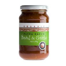 Spiral Foods Pasta Sauce Basil & Garlic - 375g