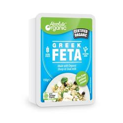 Absolute Organic Greek Feta Cheese - 150g