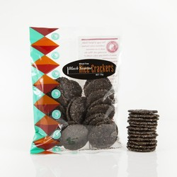 Spiral Foods Rice Crackers Black Sesame 75g