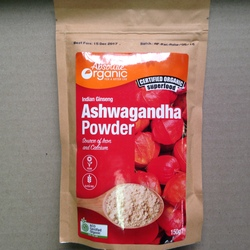 Ashwagandha Powder-150g Absolute Organic