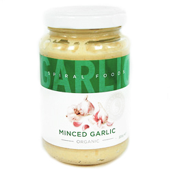 Spiral Foods Minced Garlic - 220g