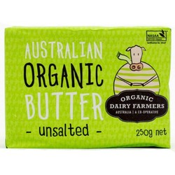 True Organics Butter Unsalted & Grass Fed - 250g x 12 VALUE BULK BUY