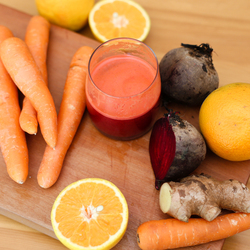 - Juice Me Up Box - Carrot, Citrus & Beetroot