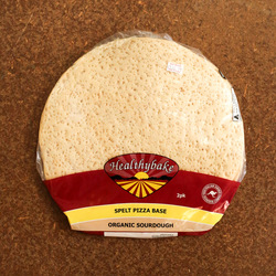 Healthybake Pizza Base Spelt Sourdough (2 Pack) 560g