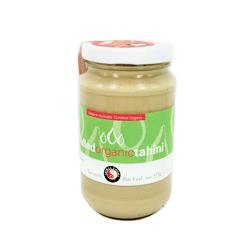 Spiral Foods Organic Tahini Hulled 375g