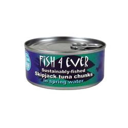 Fish 4 Ever Tuna Chunks in Spring Water 160g x 15 VALUE BULK BUY