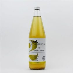 Bod Kombucha No.2 Lemon & Ginger 1L