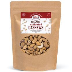 2Die4 Activated Organic Cashews 1kg VALUE BULK BUY