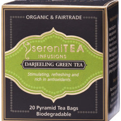 SereniTEA Tea Darjeeling Green (20 bags)