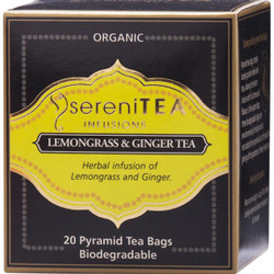 SereniTEA Tea Lemongrass Ginger (20 bags)