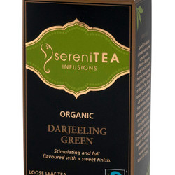 SereniTEA Tea Darjeeling Green (Loose) 125g