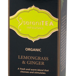 SereniTEA Tea Lemongrass Ginger (Loose) 65g