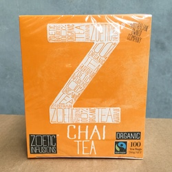 Zoetic Tea Chai (100 bags)