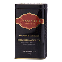 SereniTEA Tea English Breakfast (Loose in Tin) 125g