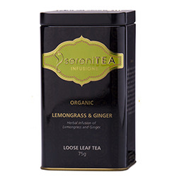 SereniTEA Tea Lemongrass Ginger (Loose in Tin) 75g