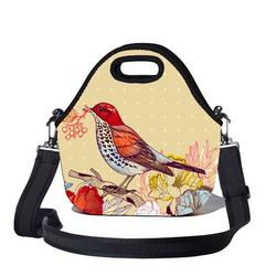 BBBYO Lunchtime Bag & Strap Bird Print
