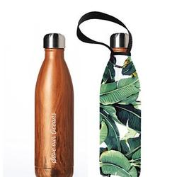 BBBYO Future Bottle 750ml & Carry Cover Banana Leaf