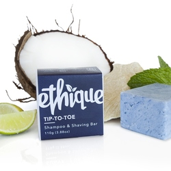 Ethique Shampoo & Shaving Bar Tip To Toe 110g