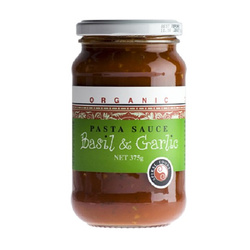 Spiral Foods Pasta Sauce Basil & Garlic 6x375g  VALUE BULK  BUY