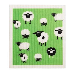 Dish Cloth Sheep Retro Kitchen