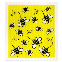 Dish Cloth Bees Retro Kitchen