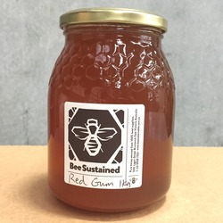 Bee Sustained Honey Red Gum 1kg