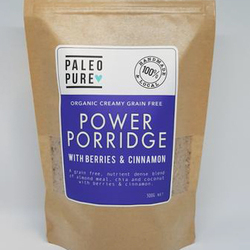 Paleo Pure Power Porridge Berries & Cinnamon 300g