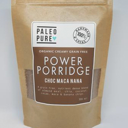 Paleo Pure Power Porridge Choc Maca Nana 300g