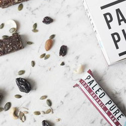 Paleo Pure Organic Raw Bars Cherry Cacao 12x45g VALUE BULK BUY