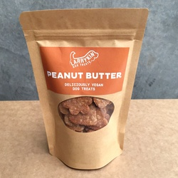Larrykin Vegan Dog Treats Peanut Butter 125g