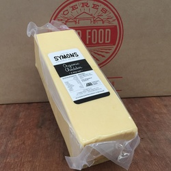 Symons Cheddar Cheese VALUE BULK BUY 2.4kg
