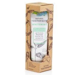 The Natural Family Co Toothpaste Whitening- 100g