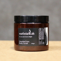 Warbotanicals Avocado Smashed Avo Body Scrub 400g