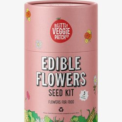 The Little Veggie Patch Co Seed Kit Edible Flowers