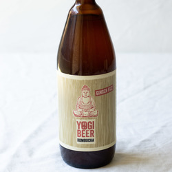 Yogi Beer Kombucha Ginger Fizz - 750ml