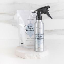 Resparkle Commercial Grade Disinfectant Starter pack (250ml alu bottle & 500ml refill pouch)