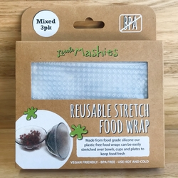 Little Mashies Reusable Stretch Food Wrap (3 pack)