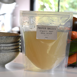 Proper Basics Organic Beef Broth Salt Free  500 ml