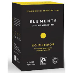 Eloments Organic Vitamin Tea Double Lemon (14 bags)