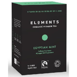 Eloments Organic Vitamin Tea Egyptian Mint (14 bags)