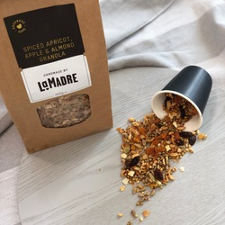 La Madre Granola Spiced Apricot, Apple & Almond 450g