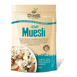 13 Seeds Hemp Muesli Untoasted 225g