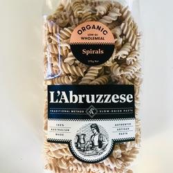 L'Abruzzese Organic Pasta Wholemeal Spirals 375g