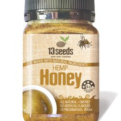 13 Seeds Hemp Honey 500g