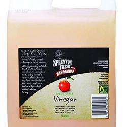 Spreyton Fresh Apple Cider Vinegar 5L VALUE BULK BUY
