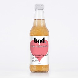 Bod Kombucha Watermelon & Mint VALUE BULK BUY 12x330ml